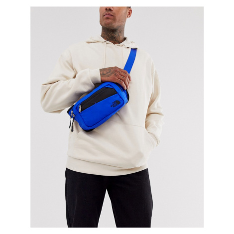 The North Face Bozer bum bag in blue/black