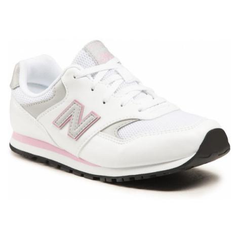 New Balance Sneakersy YC393CWP Biały