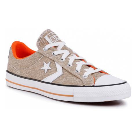 Converse Tenisówki Star Player Ox 167670C Brązowy