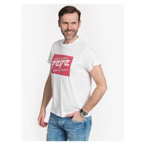 """Pepe Jeans """"Retro 45TH"""" White"""