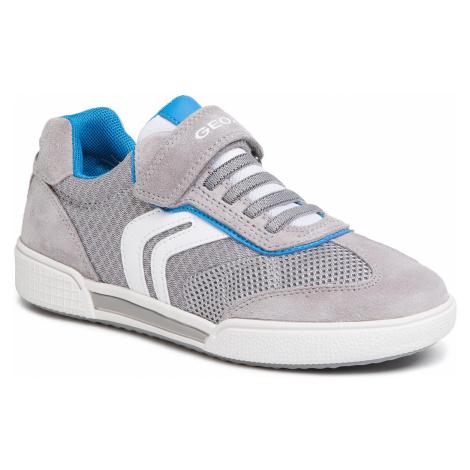 Sneakersy GEOX - J Poseido B. D 02BCD 01422 C1295 D Grey/Sky