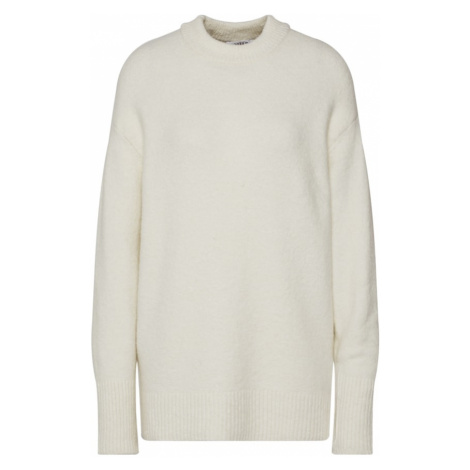 EDITED Sweter 'Sanae' beżowy / biały