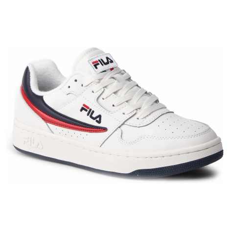 Sneakersy FILA - Arcade Low 1010583.01M White/Fila Navy/Fila Red