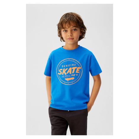 Mango Kids - T-shirt dziecięcy Minimal 110-164 cm