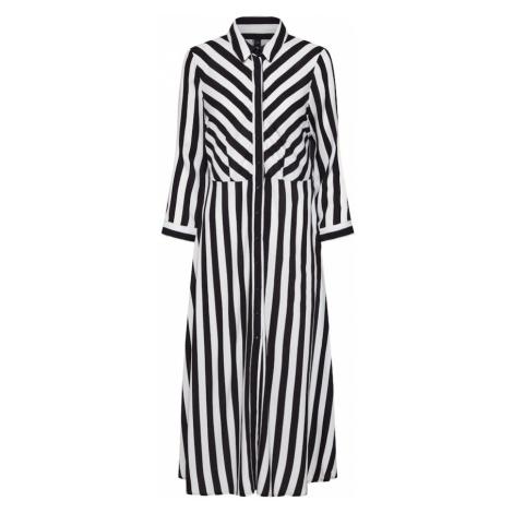 Y.A.S Sukienka 'Savanna' czarny / biały
