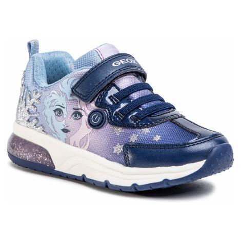 Sneakersy GEOX - J Spaceclub G.D J028VD 011AJ C4215 M Navy/Lilac