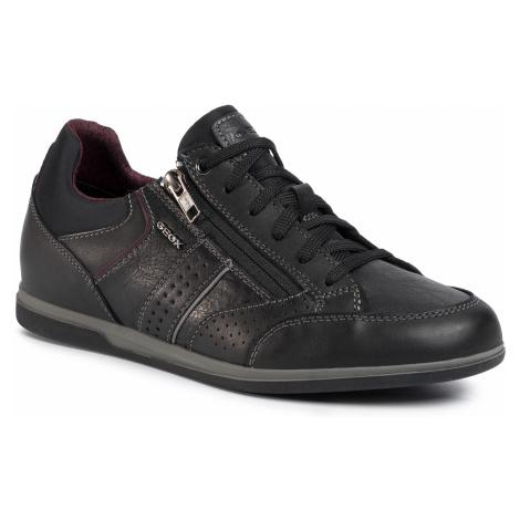 Sneakersy GEOX - U Renan A U024GA 043PT c9999 Black