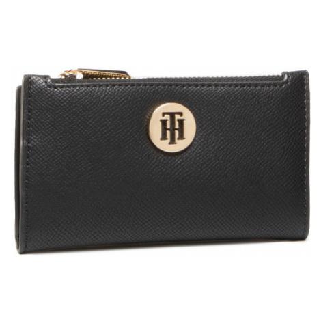TOMMY HILFIGER Etui na karty kredytowe Honey Slim Wallet AW0AW08899 Czarny