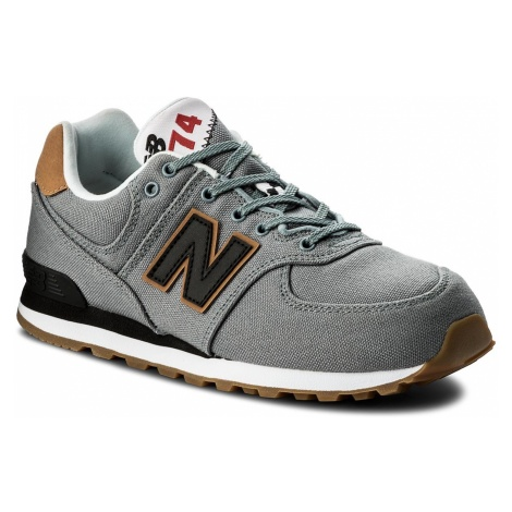 Sneakersy NEW BALANCE - GC574T2 Szary