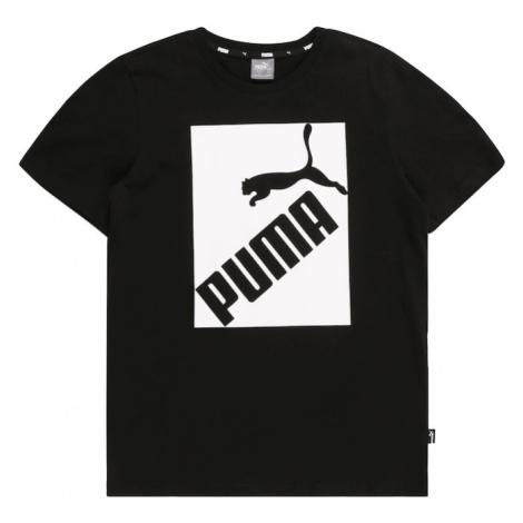 PUMA Koszulka 'Big Logo Tee B' czarny