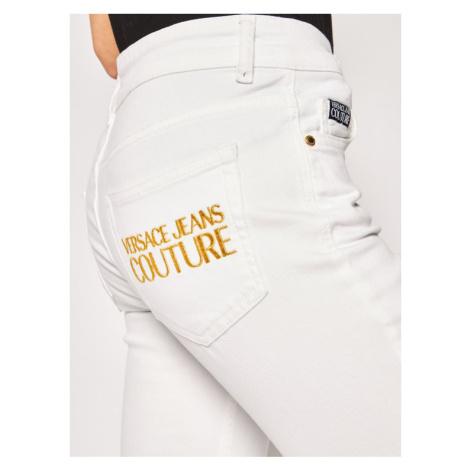 Versace Jeans Couture Jeansy Skinny Fit A1HVA0K4 Biały Skinny Fit