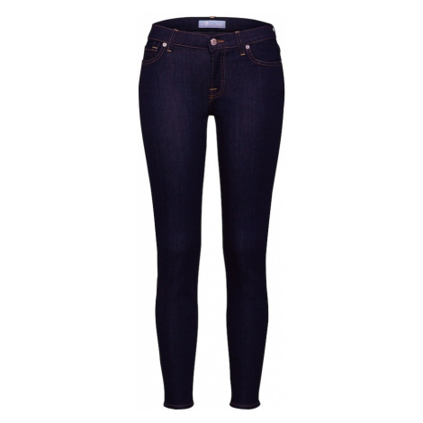 7 for all mankind Jeansy 'The Skinny Crop' niebieski