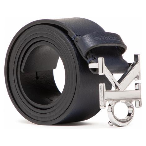 Pasek Męski CALVIN KLEIN JEANS - Mono Plaque Belt 35Mm K50K506548 Navy CFE