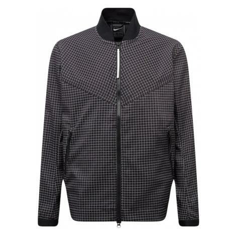 Nike Sportswear Kurtka przejściowa czarny / biały