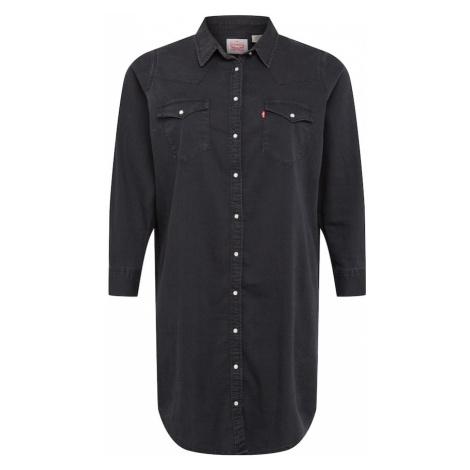 Levi's® Plus Sukienka koszulowa 'Western' czarny