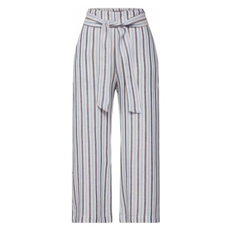 OBJECT Spodnie szary / biały