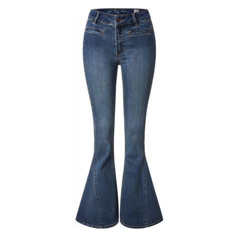 Free People Jeansy 'DREAM LOVER' niebieski