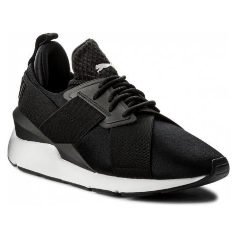 Sneakersy PUMA - Muse Satin EP 365534 03 Puma Black/Puma White