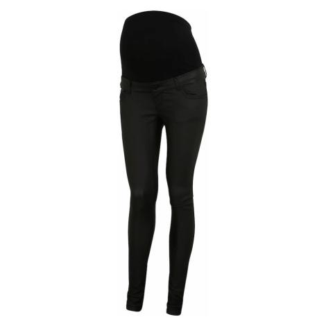 Czarne jeansy ciążowe