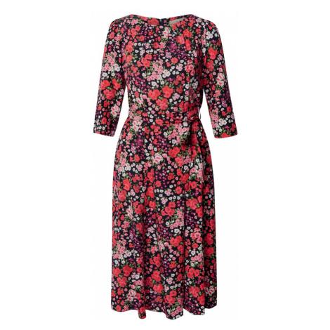 Dorothy Perkins Sukienka 'BILLIE AND BLOSSOM' czarny / czerwony / różowy pudrowy