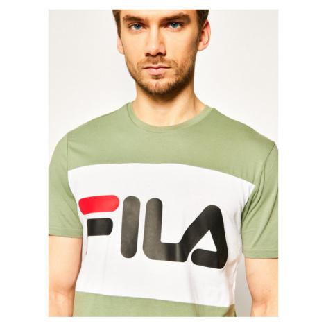 Fila T-Shirt Day Tee 681244 Zielony Regular Fit