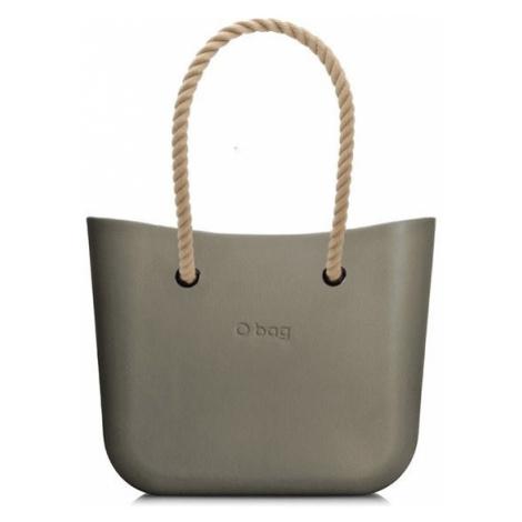 O bag torebka MINI Rock z długimi uchwytami linowymi natural