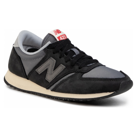 Sneakersy NEW BALANCE - U420KBG Czarny Szary