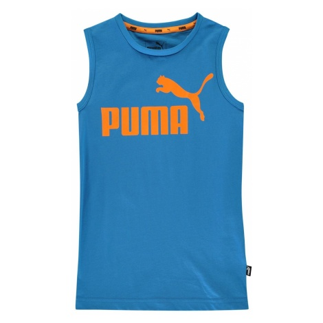 Puma No1 Sleeveless T Shirt Junior