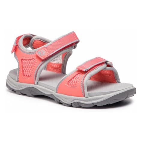 Jack Wolfskin Sandały Acora Beach Sandal G 4030011 Różowy