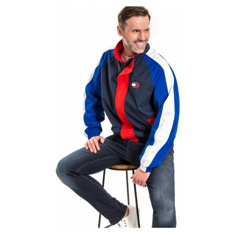 """Tommy Jeans """"Badge Colorblock Jacket"""" Blue Tommy Hilfiger"""