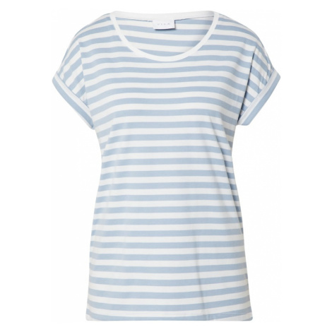 VILA Koszulka 'Dreamers' biały / jasnoniebieski