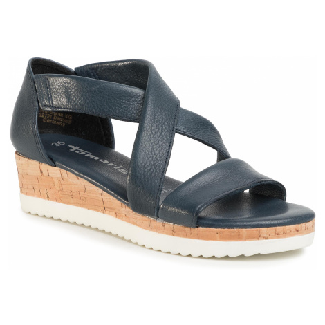Sandały TAMARIS - 1-28224-24 Navy 805