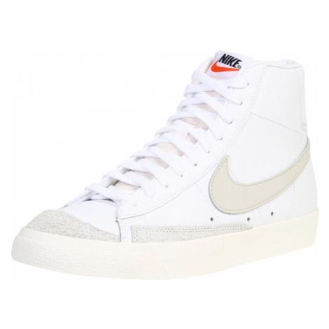 Nike Sportswear Trampki wysokie 'Blazer Mid 77 Vintage' biały / beżowy