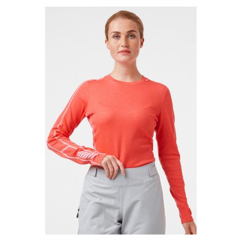 Pomarańczowe damskie termoaktywne koszulki