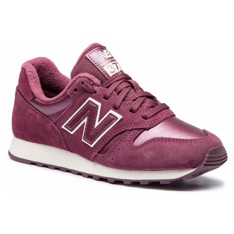 Sneakersy NEW BALANCE - WL373PBV Bordowy