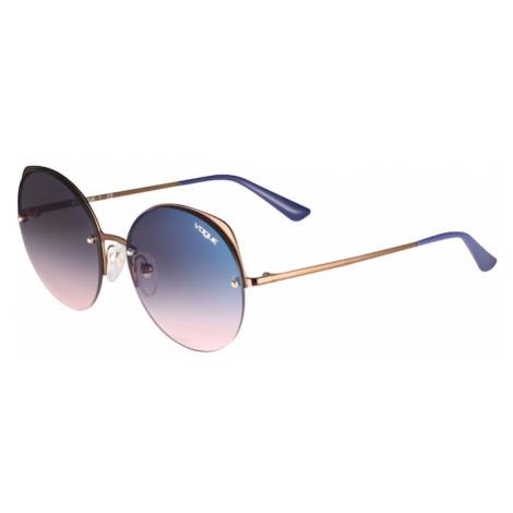 VOGUE Eyewear Okulary przeciwsłoneczne niebieski / brąz