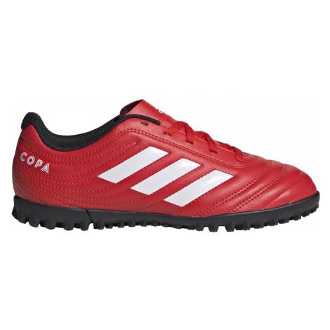 Adidas Copa 20.4 TF Młodzieżowe Czerwone (EF1925)