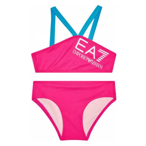 EA7 Emporio Armani Strój kąpielowy 913011 1P453 02773 Różowy