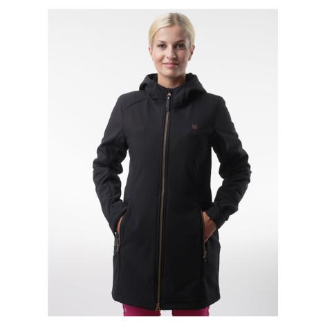 Czarny damski płaszcz softshell LOAP Lywiena
