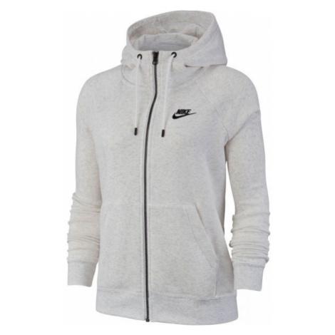 Nike NSW ESSNTL HOODIE FZ FLC W szary S - Bluza damska