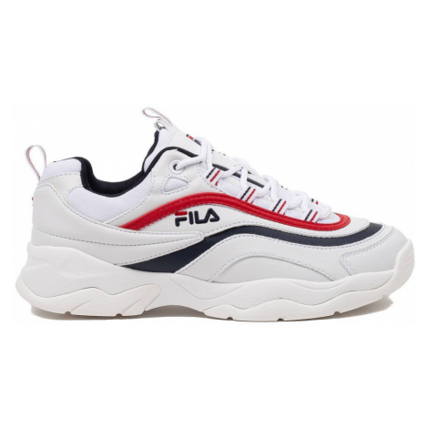 damskie buty FILA WMN RAY LOW WHITE/NAVY/RED