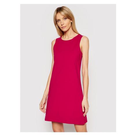 CMP Sukienka letnia 30D6516 Różowy Regular Fit