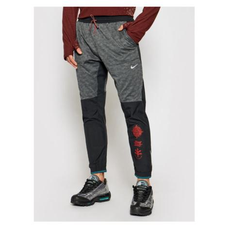 Nike Spodnie dresowe Phenom Elite Wild Run Z9748 Szary Standard Fit