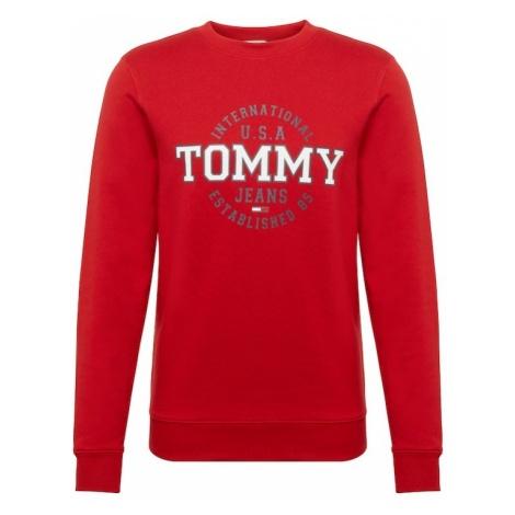 Tommy Jeans Bluzka sportowa 'TJM CIRCULAR CREW' ciemny niebieski / czerwony / biały Tommy Hilfiger