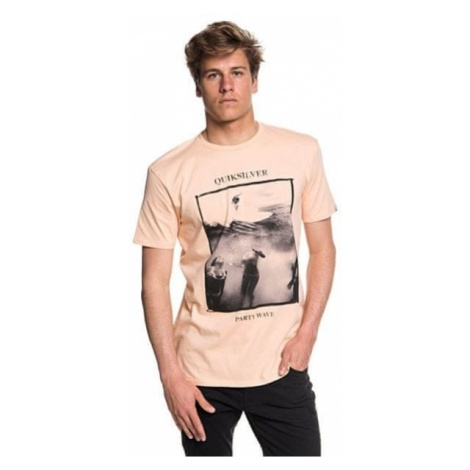 Quiksilver T-shirt Wave Party Ss Peach Parfait EQYZT04948-MEF0