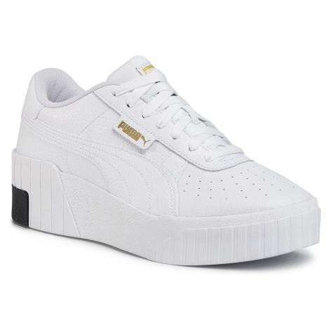 Sneakersy PUMA - Cali Wedge 373438 03 Puma White/Puma Black