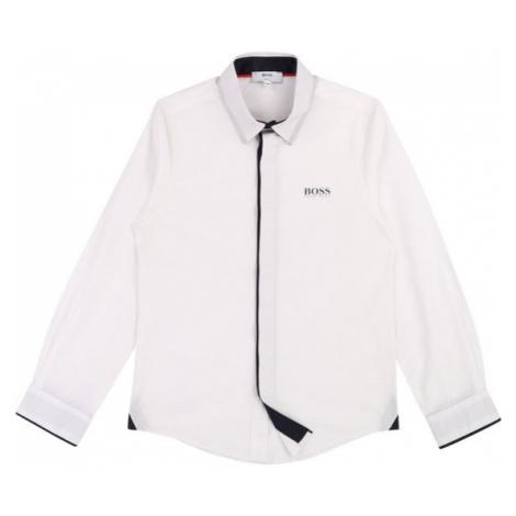 Boss Koszula J25E01 D Biały Slim Fit Hugo Boss