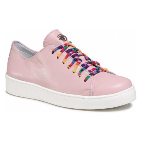 Solo Femme Sneakersy 95224-02-K81/000-03-00 Różowy
