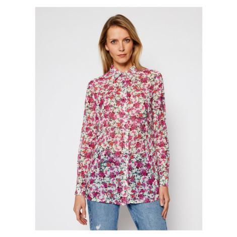 Guess Koszula Clouis W1RH09 W70Q0 Różowy Relaxed Fit