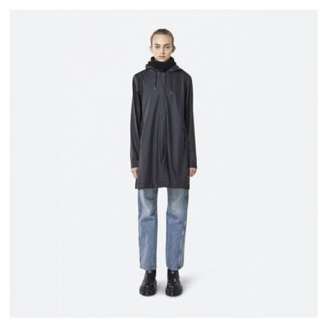 Płaszcz damski Rains A-line Jacket 1834 BLACK